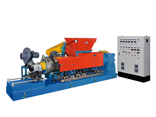Single Screw Extruder with Counter Rotating Feeder (PR125/PR160)
