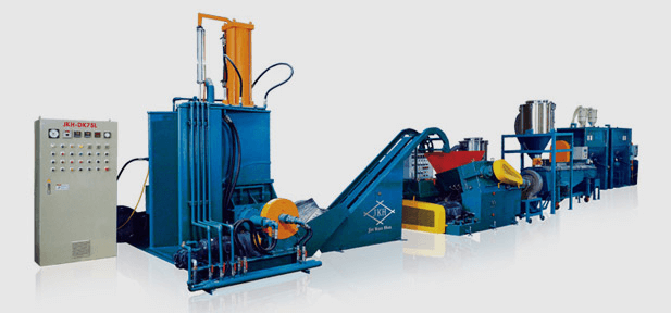 Plastic & Rubber Pellet Making Line