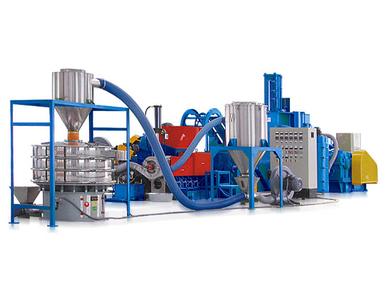 High Filler Modified Compound Making Line (CaCo3, TiO2 or Talc)